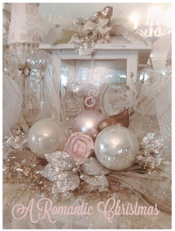 17 best images about shabby chic christmas ornaments on - Shabby chic christmas decorations to make ...