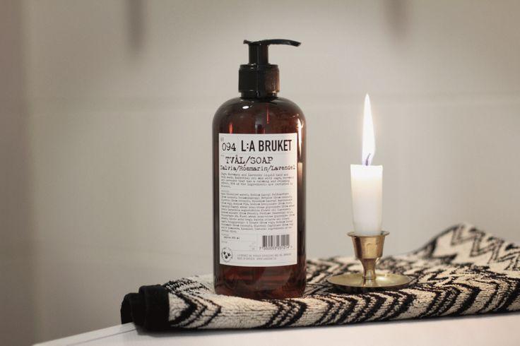 L:A Bruket soap