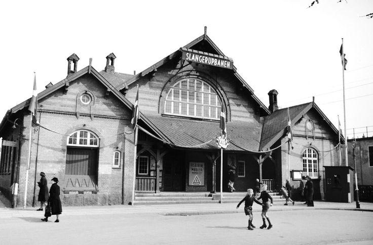 Slangerupbanen på Nørrebro 1946