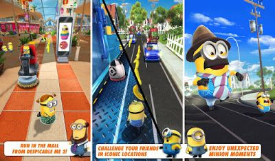 Download Despicable Me Minion Rush MOD APK Unlimited Coins Terbaru