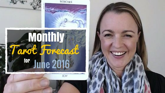 In June 2016, you'll experience a major breakthrough that will give you laser-focused clarity about who you are and what you stand for. Aren't you just dying to know more? Watch my monthly Tarot forecast for June and find out!