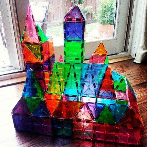 19 Best Magna Tile Creations Images On Pinterest Block