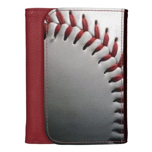 Baseball Leather Wallet