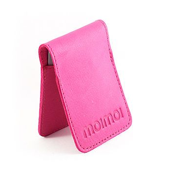 PETTERI reindeer leather cardwallet Magenta
