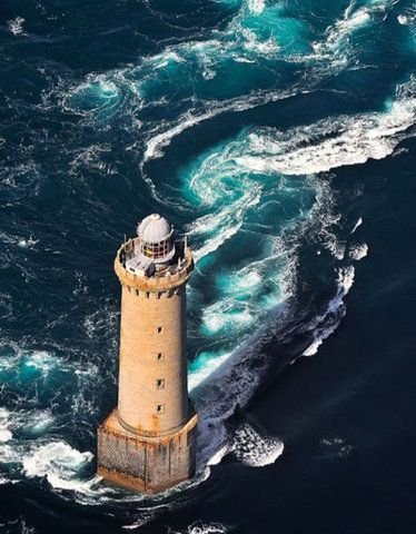 Le Phare de Kereon, Ouessant, Brittany, France | Flickr - Photo by