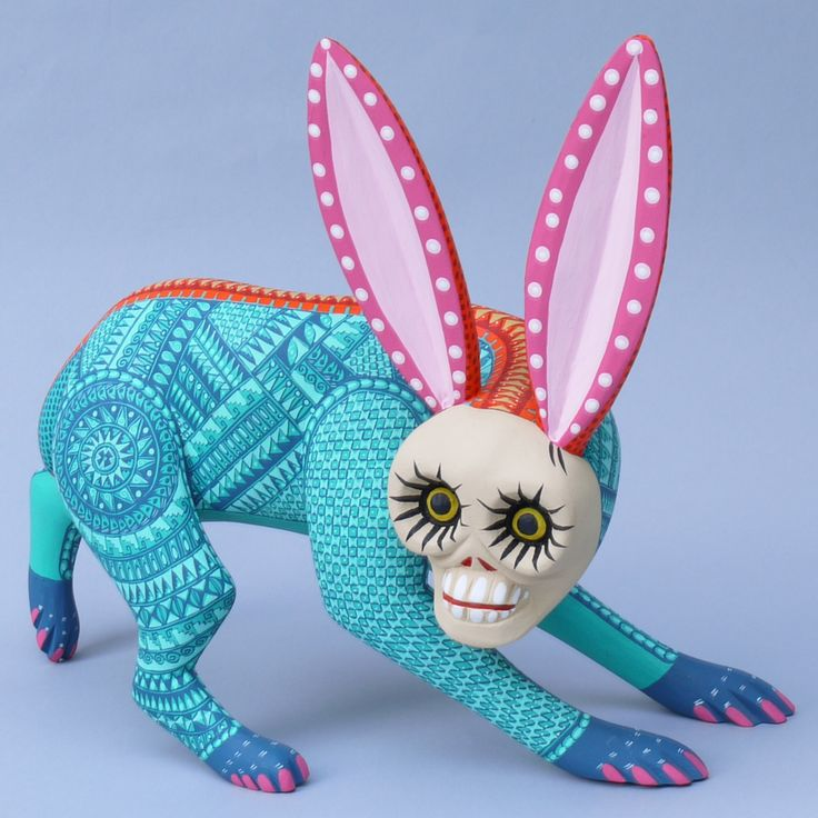 Alebrijes (Spanish pronunciation: [aleˈβɾixes]) are brightly colored Oaxacan-Mexican folk art sculptures of fantastical creatures. The first alebrijes, along with use of the term, originated with P…
