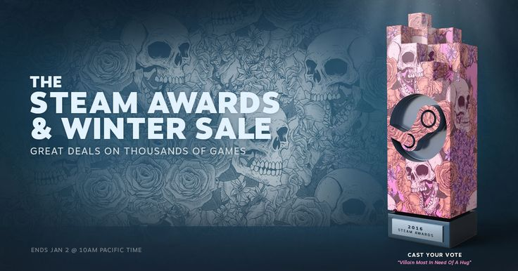 The Steam Winter Sale is Here.