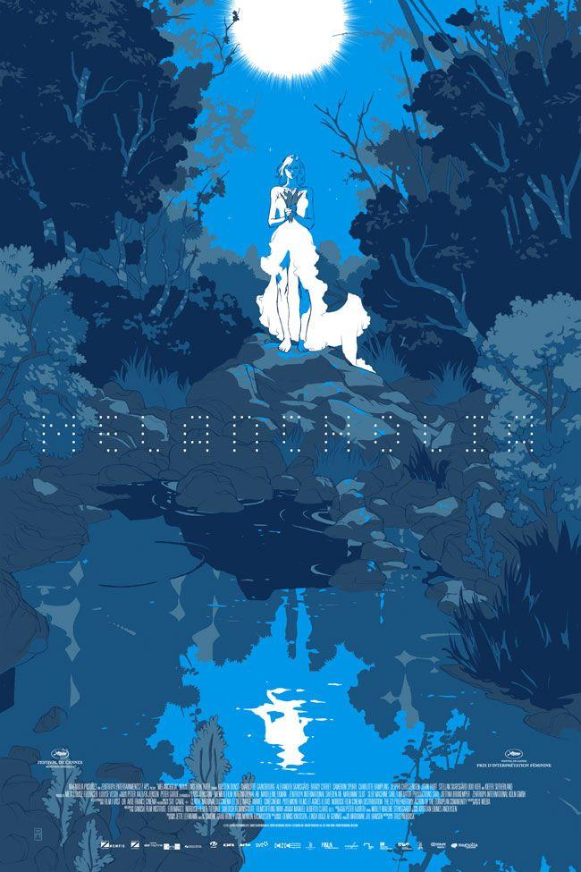 Tomer Hanuka - 'Melancholia' film poster, for Magnolia Pictures / Mondo