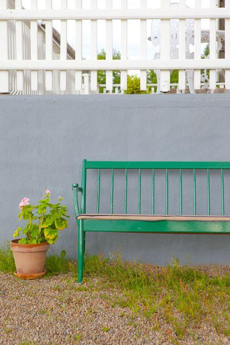pinnsoffa, loppisfynd, soffa, träsoffa Hildas hem: Att fynda en soffa på loppis