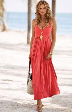 17 Best ideas about Coral Summer Dresses on Pinterest | Women's ...