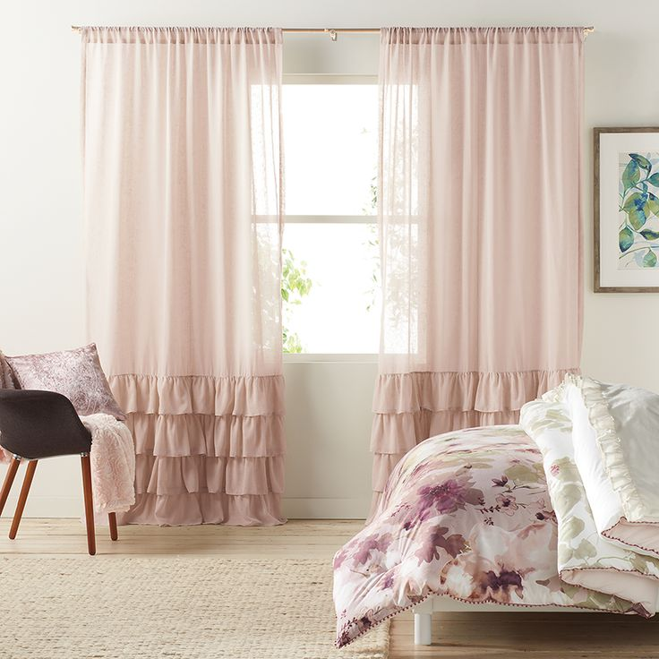 lc lauren conrad curtain collection at kohl's | sheer