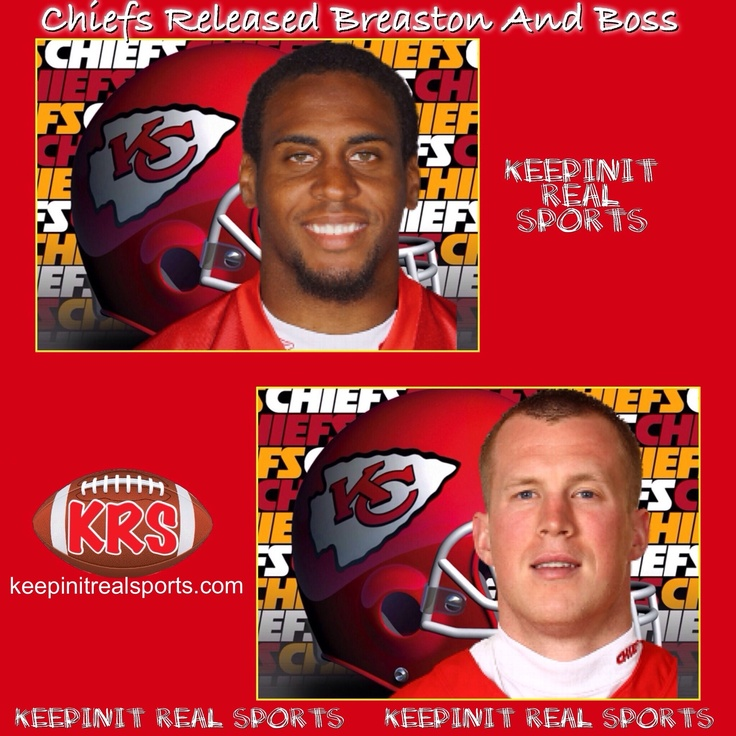 Keepinit Real NFL News: Chiefs Released Breaston And Boss  The Kansas City Chiefs have released wide receiver Steve Breaston and tight end Kevin Boss under new coach Andy Reid and general manager John Dorsey.