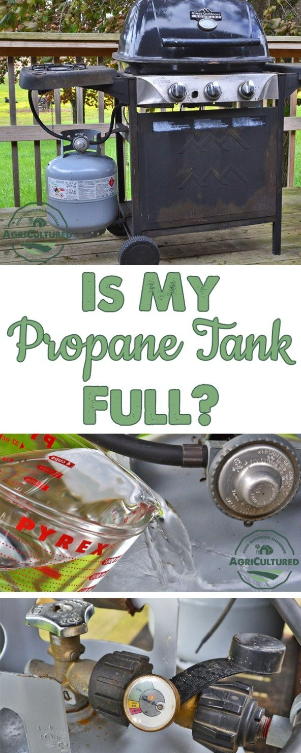 How Can I Tell if My Propane Tank is Full? on AgriCultured. If you have ever been caught with an empty propane tank when you were counting on the grill for dinner, you need to check out these tips! Never be stuck with an empty propane tank again.