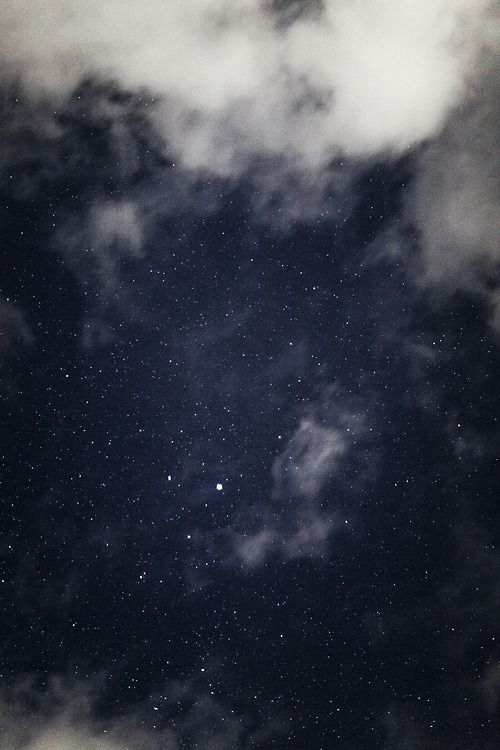 night, sky, clouds, photography