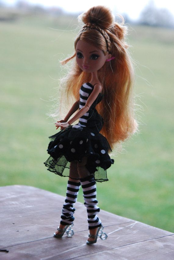 Monster High and Ever After High handmade dress by LucieVran
