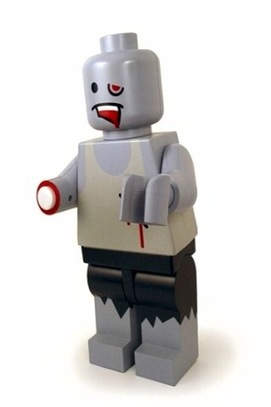 Zombie Lego minifigure...do you have one in your collection? #minifigs #zombie
