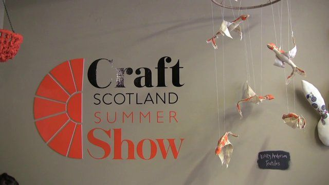 A quick look at the work of 36 talented makers showcasing their craft at the Craft Scotland Summer Show.  On from 02 to 26 August 2013 at White Stuff, George Street, Edinburgh.  http://www.craftscotland.org/summershow