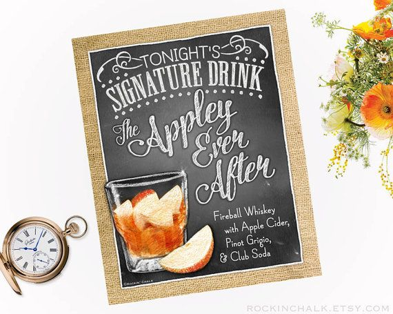Best 25 Wedding Signature Drinks Ideas On Pinterest Tails Blushing Bride Drink And Signs