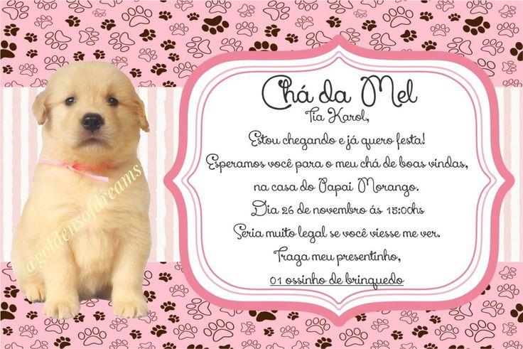 Chá de boas vindas para nossa Melzinha 🐾🐶💕 #pet #chá #festa #cachorro #golden