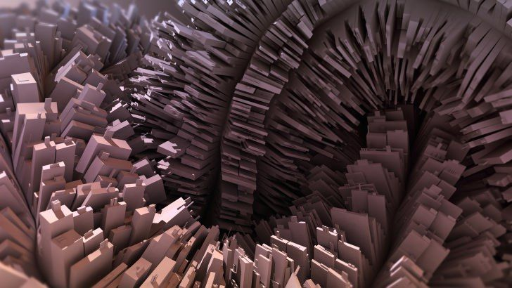 3D Abstraction Wallpaper