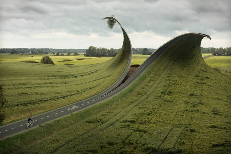 Artist Erik Johansson is skilled in both photography and photo manipulation. He cites Dali, Magritte and Escher among his inspirations.