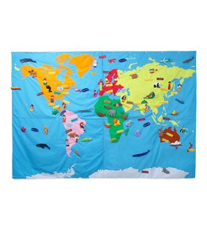Cool interactive wall mapWall Hangings, Young Children, World Maps, Interactive Maps, Conran Shops, Giants, Planet Earth, 181 Motif, World Map Wall