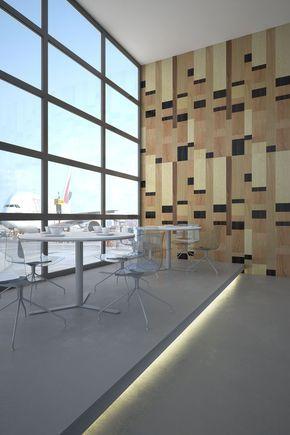 Paneles decorativos de madera para revestimiento de paredes, techos, puertas y muebles. Colección Join Ordre | raclima