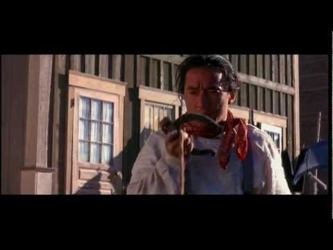 Shanghai Noon - Jackie Chan horseshoe fight scene. Sooo awesome and hilarious. Jackie Chan really is incredible.