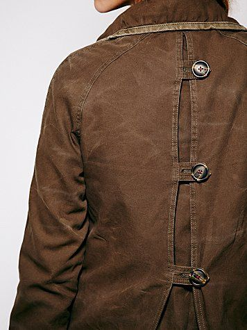 Canvas Coat - it's all in the detail