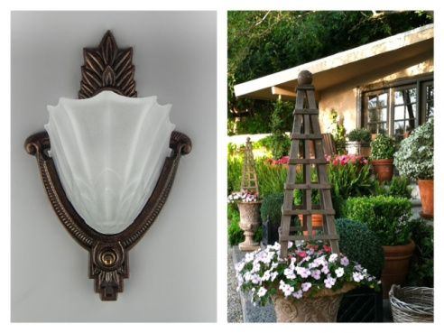 We recently launched our Reproduction Collection online – and think that it contains some of the best solutions for outdoor lighting.  Shine a light on those numbers, making your home a welcoming destination with a sconce by the doorway.