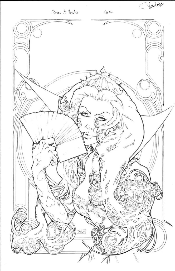 grimm fairy tale coloring pages - photo#20