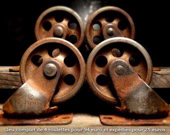 roulettes anciennes industrielles - Recherche Google
