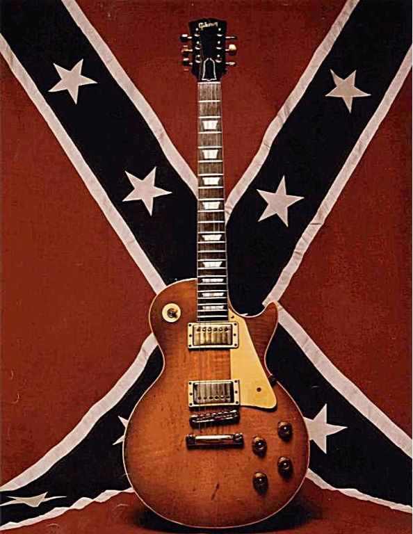 Gary Rossington's 59 Gibson LP. Best known as a founding member of Southern rock band Lynyrd Skynyrd. He plays lead and rhythm guitar. He is also a founding member of The Rossington-Collins Band....