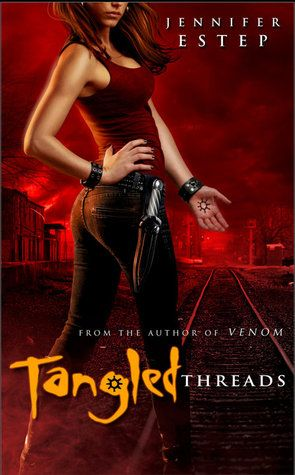 Tangled Threads by Jennifer Estep - Book 4 in the Elemental Assassin series. (Click on image for review)