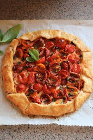 A Slice of Summer - Tomato Basil Pie