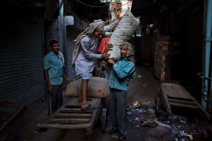 Markt in Neu-Delhi