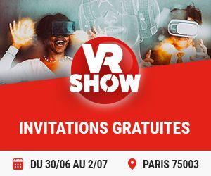 Gagnez votre pass duo pour assister au show de réalité virtuelle !