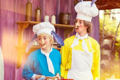 Bakergutten og Bakermester Harepus i Hakkebakkeskogen