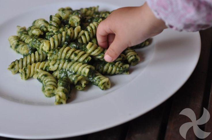 Pasta con bechamel de espinacas # No os lo vais a creer pero esta pasta con bechamel de espinacas es la favorita de mi hija pequeña. ¡Le encanta! Y es curioso porque, por el color, nadie diría que pudiera ser atractiva ... »