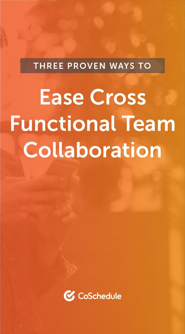 cross functional collaboration There is consensus in the marketing literature that market knowledge and cross- functional collaboration are two fundamental resources for successful product.