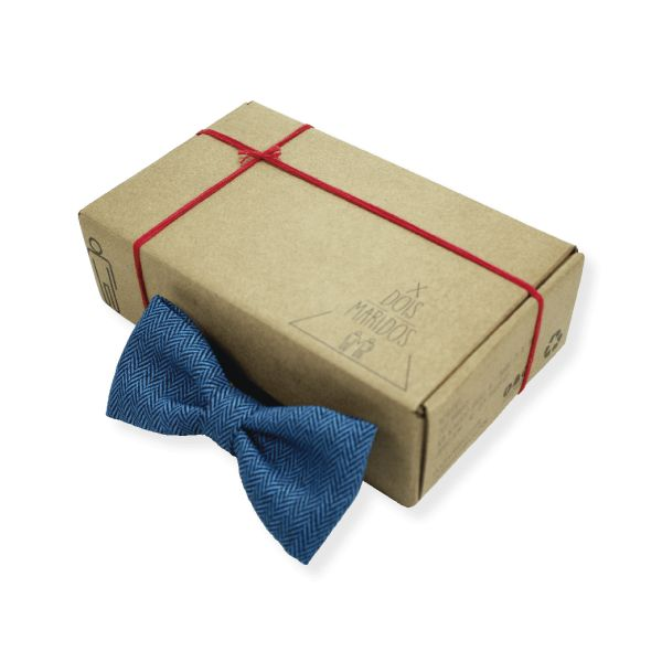 Gravata Borboleta Cashmere Blue – Dois Maridos – Gravatas Borboletas, Suspensórios e informações de moda.