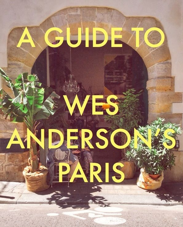 via @messynessychic . Did you know Wes Anderson lives in Paris? From Moonrise Kingdoms Cafés to the Parisian Life Aquatic with Steve Zissou, here's what a day spent with Wes Anderson in #Paris might be like…