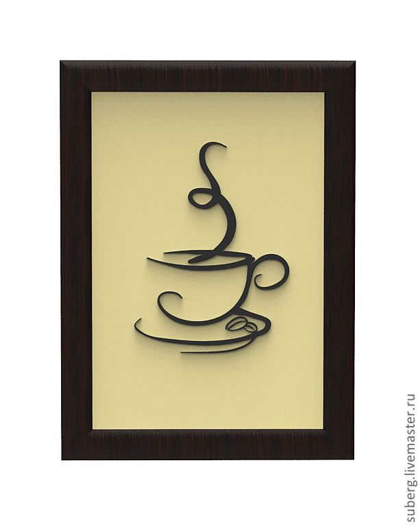 coffee, this would look awesome on a shadow box full of coffee beans!