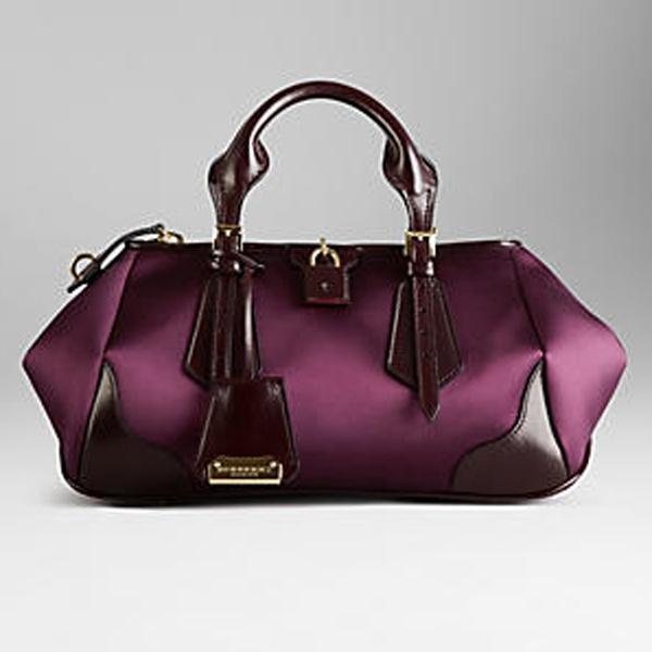 Top 5 handbags for Autumn - Burberry Blaze in Purple