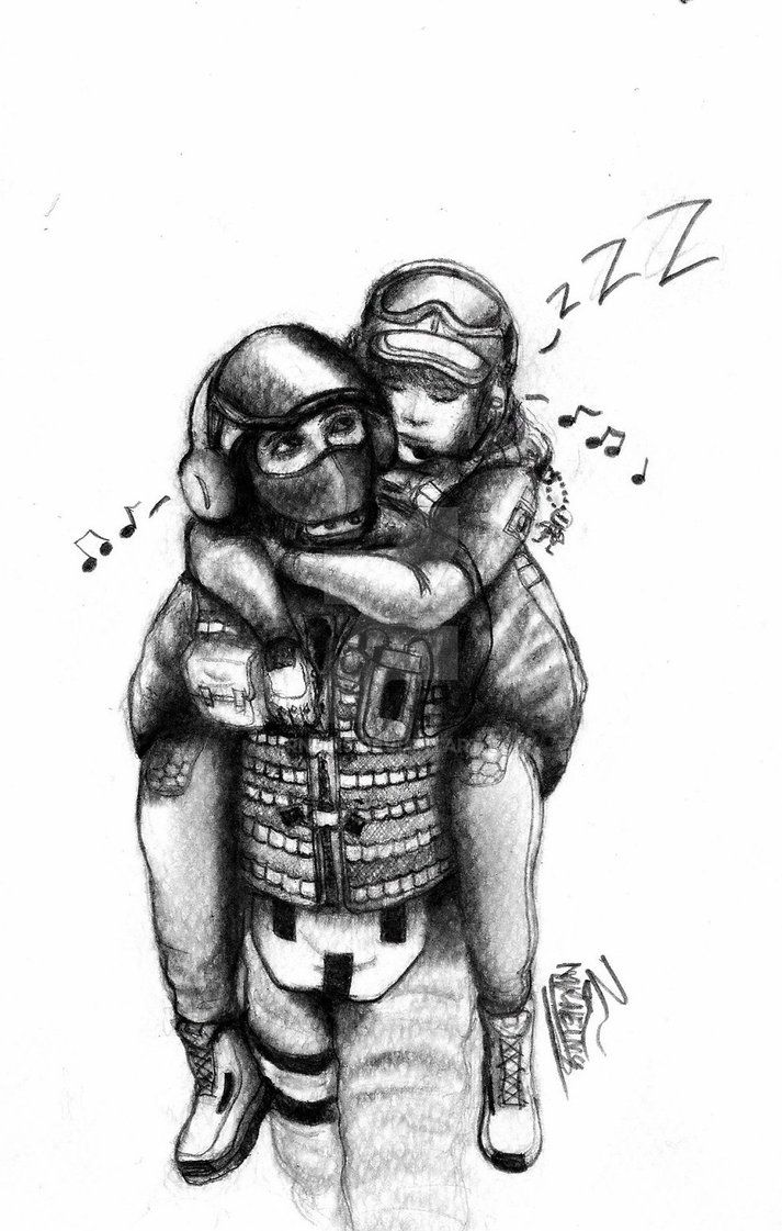 Bandit And Ela By Mrnein9 With Images Rainbow Six Siege Art