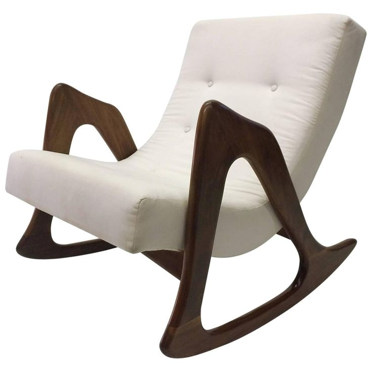 midcentury rocking chair by adrian pearsall for craft associates