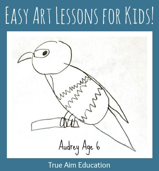 17 best ideas about easy art lessons on pinterest art for Easy things to draw for kids step by step
