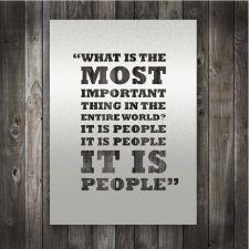 It is People