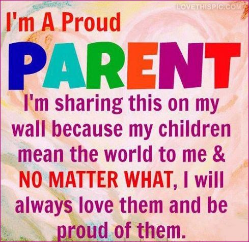 proud parent quotes family cute quote colorful life ... I Am Proud Of My Daughter Quotes