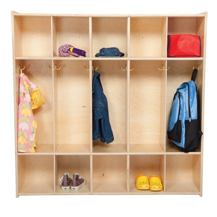 Contender 5 Section Preschool Cubby Locker Mudroom Lockers Lockers Home Lockers